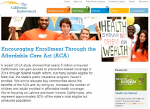 Encouraging Enrollment Through the Affordable Care Act (ACA)