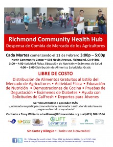 Richmond Health Hub Flyer