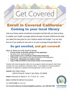 Get Covered_San Pablo Library_English
